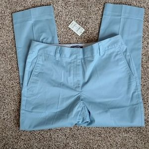 Lands' End new Chino cropped pants size 10